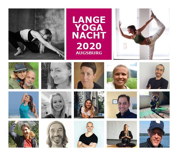 """Die """"Lange Yoga Nacht"""" Augsburg"""